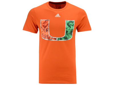 Miami Hurricanes adidas NCAA Men's Own The Smoke T-Shirt