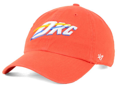 Oklahoma City Thunder '47 NBA Mashup '47 CLEAN UP Cap
