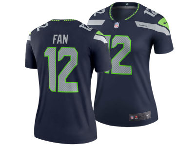 Seattle Seahawks Fan #12 Nike NFL Women's Legend Jersey