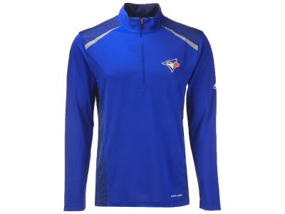 Toronto Blue Jays Majestic MLB Men's Perfect Movements Quarter Zip Pullover
