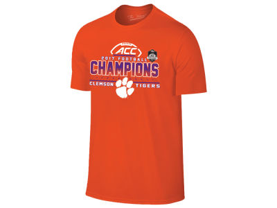 Clemson Tigers 2017 NCAA Men's Conference Locker Room Champ T-shirt
