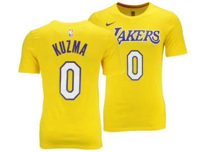 Los Angeles Lakers Kyle Kuzma Nike NBA Men's Icon Player T-shirt