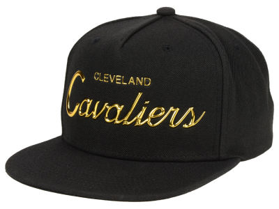 Cleveland Cavaliers Mitchell & Ness NBA Metallic Tempered Snapback Cap
