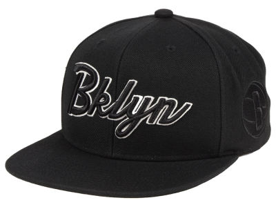 Brooklyn Nets Mitchell & Ness NBA Town Snapback Cap