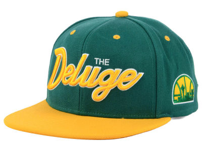 Seattle SuperSonics Mitchell & Ness NBA Town Snapback Cap