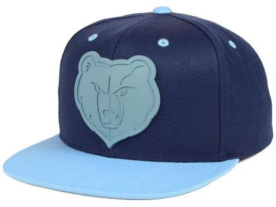 d33b63495f5 Memphis Grizzlies Mitchell   Ness NBA Rubber Weld Snapback Cap