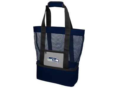 Seattle Seahawks Mesh Beach Tote Cooler