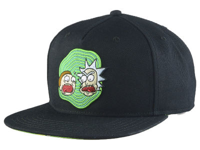 Rick and Morty Rick and Morty Snapback Cap