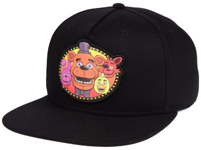Five Nights at Freddy's Oval Logo Snapback Cap