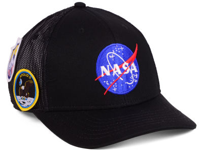 NASA Patches Meshback Cap