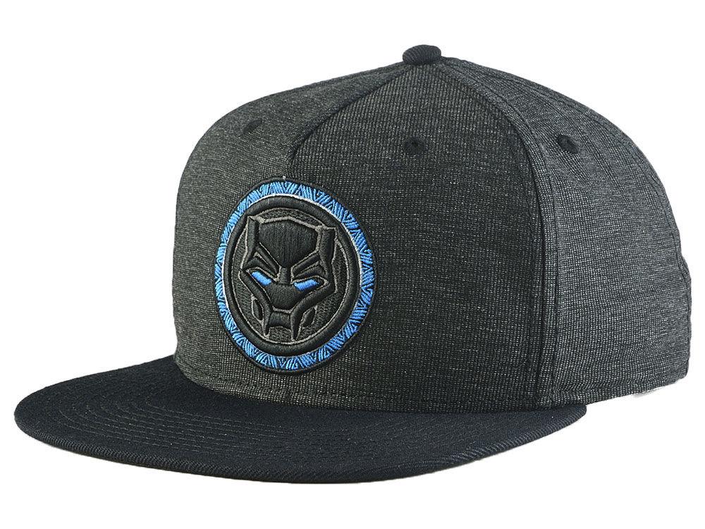 Marvel Black Panther Blue Eye Snapback Cap  8a230e77fa5