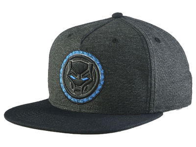 Marvel Black Panther Blue Eye Snapback Cap