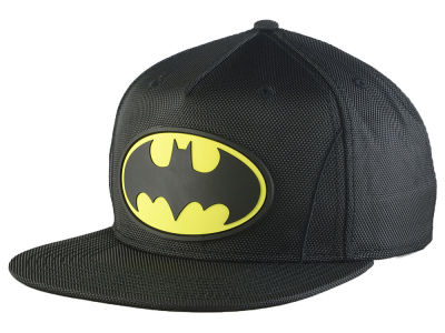 DC Comics Batman Nylon Suit Up Snapback Cap