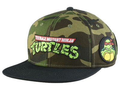 Teenage Mutant Ninja Turtles Camo Snapback Cap