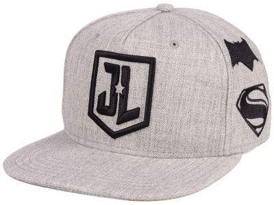 DC Comics JL Heather Snapback Cap