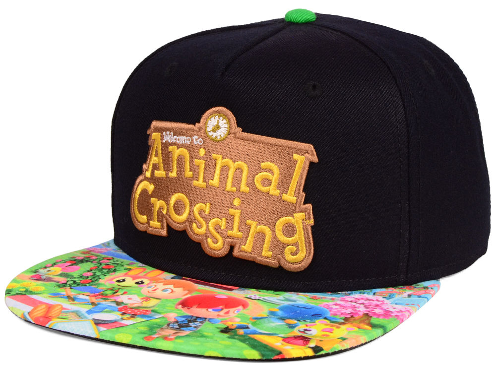 Nintendo Animal Crossing Snapback Cap  5c003b8a666