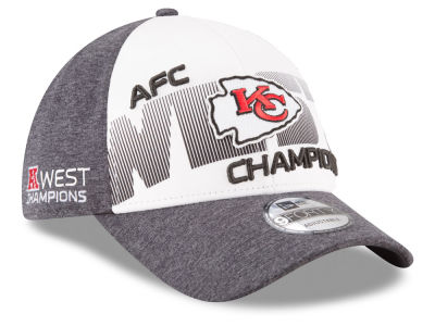 Kansas City Chiefs New Era 2017 NFL Division Champ 9FORTY Cap