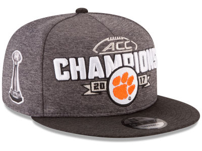 Clemson Tigers New Era 2017 NCAA ACC Champ 9FIFTY Snapback Cap