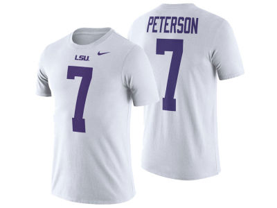 LSU Tigers Nike NCAA Men's Name and Number Player T-shirt