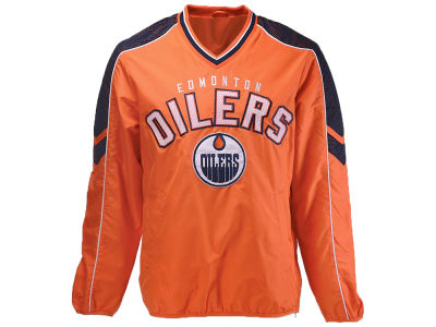 Edmonton Oilers G-III Sports NHL Men's Free Agent Pullover Jacket