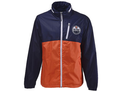 Edmonton Oilers G-III Sports NHL Men's Replay Full Zip Jacket