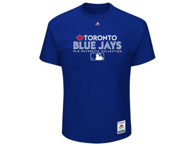 Toronto Blue Jays Majestic MLB Men's Authentic Team Drive T-Shirt