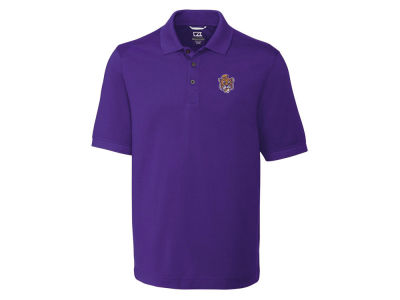 LSU Tigers Cutter & Buck NCAA Men's Advantage Polo