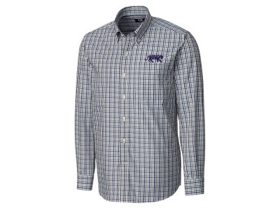 LSU Tigers Cutter & Buck NCAA Men's Gilman Plaid Button Down