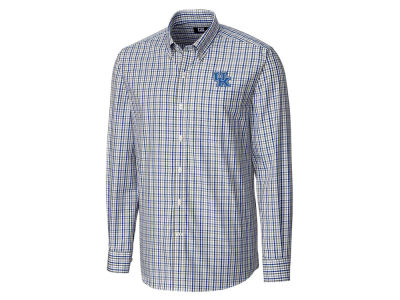 Kentucky Wildcats Cutter & Buck NCAA Men's Gilman Plaid Button Down