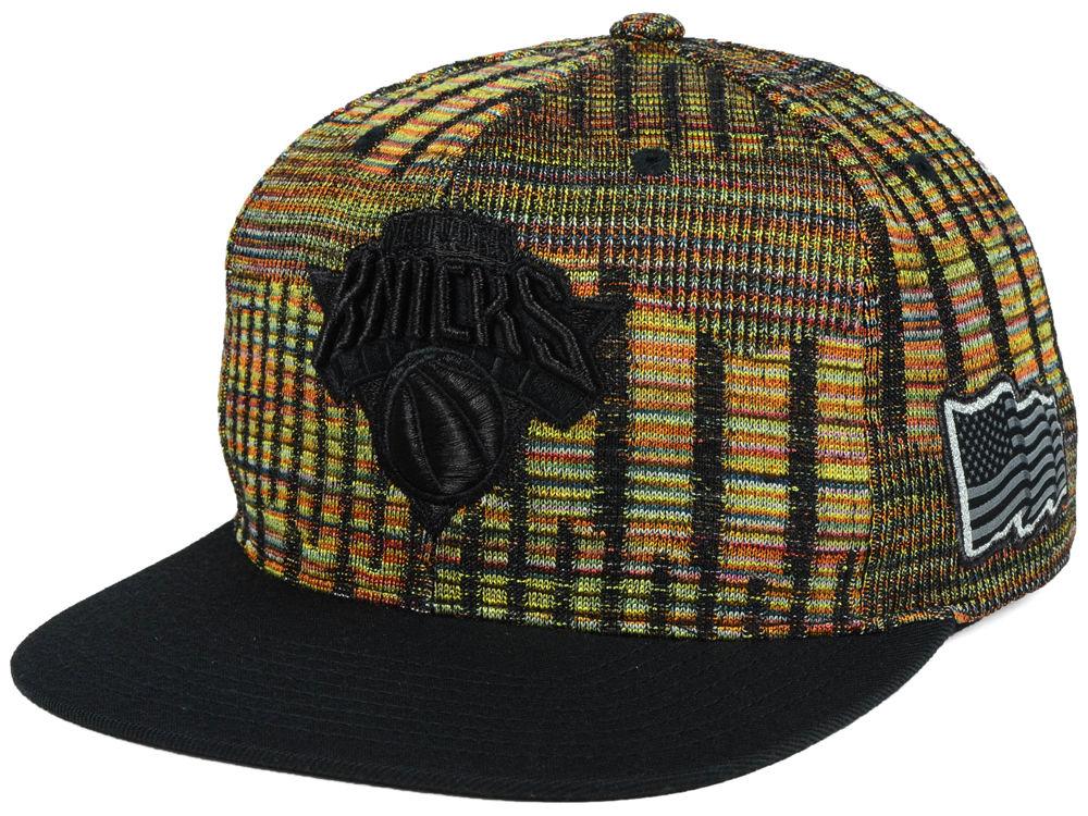 sale retailer 82b23 d008a ... official store new york knicks mitchell ness nba black flag snapback cap  c8258 67901