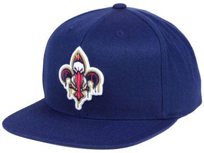 New Orleans Pelicans Mitchell & Ness NBA Dripped Snapback Cap