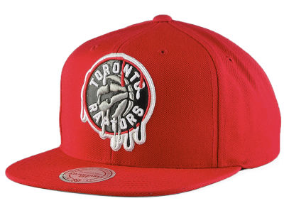 Toronto Raptors Mitchell & Ness NBA Dripped Snapback Cap