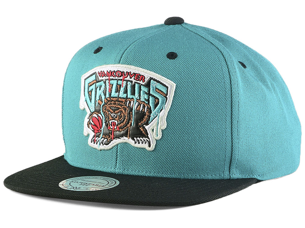 869aea0bc ... ebay vancouver grizzlies mitchell ness nba dripped snapback cap a0d10  547d0