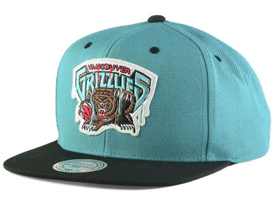 Vancouver Grizzlies Mitchell & Ness NBA Dripped Snapback Cap