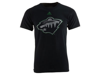 Minnesota Wild adidas NHL Men's Ice Out Logo T-Shirt