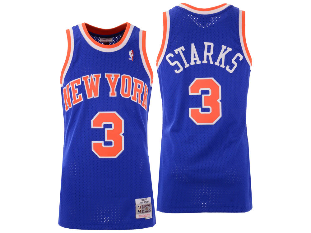 59ae9efbd ... discount new york knicks john starks mitchell ness nba mens hardwood  classic swingman jersey 3ee8a a6c67
