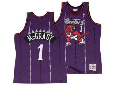 Toronto Raptors Tracy McGrady Mitchell   Ness NBA Men s Hardwood Classic  Swingman Jersey e9317046f