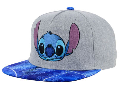 Disney Stitch Palm Leaf Snapback Cap