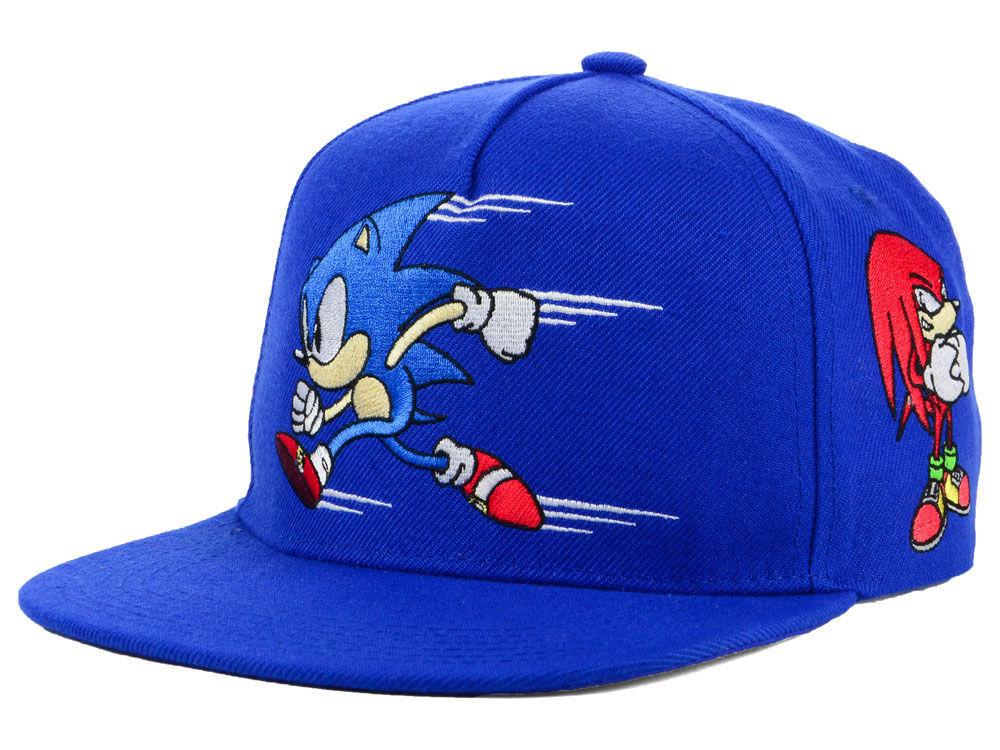 6f1f4e411c5 Sonic Multiple Character Snapback Cap