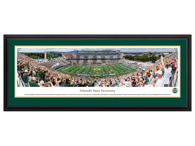 Colorado State Rams Deluxe Framed Panorama