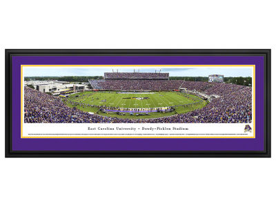 East Carolina Pirates Deluxe Framed Panorama