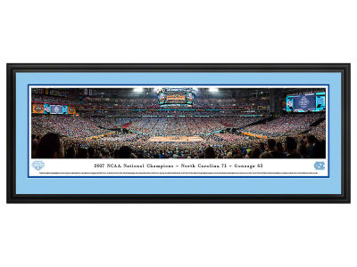 North Carolina Tar Heels Deluxe Framed Panorama