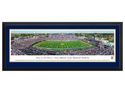 Navy Midshipmen Deluxe Framed Panorama