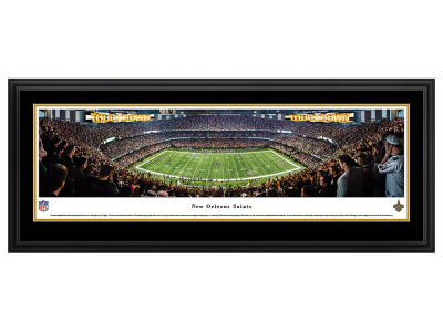 New Orleans Saints Deluxe Framed Panorama