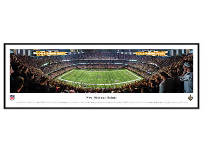 New Orleans Saints Standard Frame Panorama