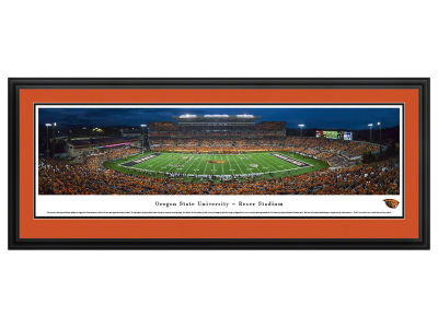 Oregon State Beavers Deluxe Framed Panorama