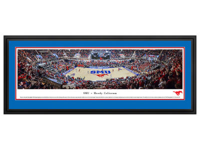 Southern Methodist Mustangs Deluxe Framed Panorama