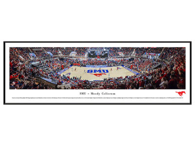 Southern Methodist Mustangs Standard Frame Panorama