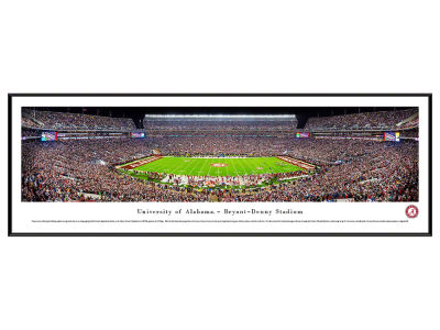 Alabama Crimson Tide Standard Frame Panorama