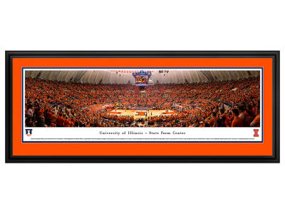 Illinois Fighting Illini Deluxe Framed Panorama